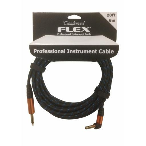 Tanglewood Flex 20ft Professional Instrument Cable