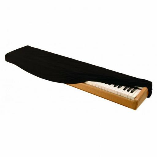 Black On-Stage 88-key Keyboard Dust Cover