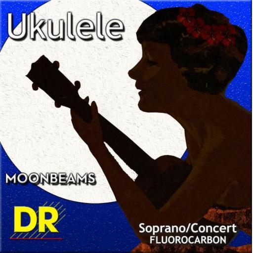 DR Moonbeam Soprano/Concert Ukulele Strings