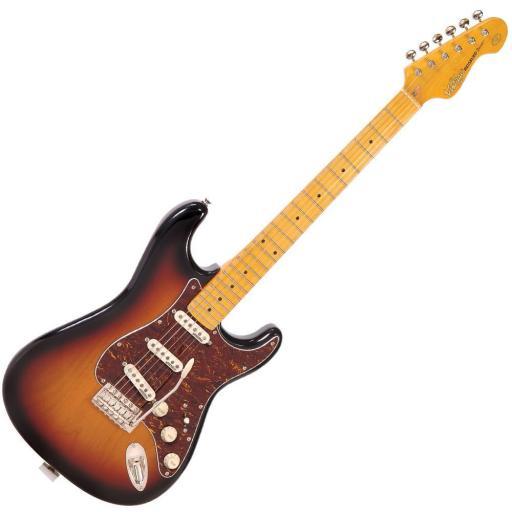 Vintage V6M Electric Guitar ~ Sunburst